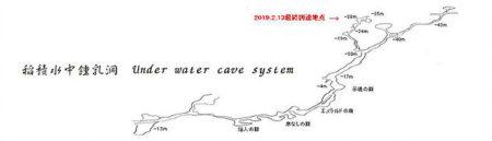 2019.2稲積水中鍾乳洞調査