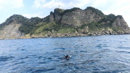 宮崎大島・久しぶりに外洋。
